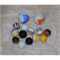 New Style Beautiful Colored Toy Playing Glass Marbles
