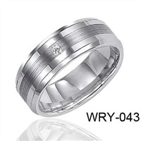 Classic Mens Wedding Band Tungsten Ring 8mm  6mm WRY-043