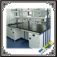 Science lan benches GIGA stainless steel lab bench