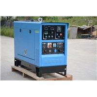 Perkins Welding Generator Set with Two Torches 750A MMA GMAW and TIG Welding Functions