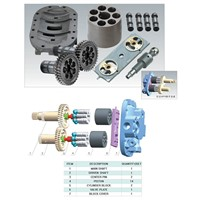 Hitachi HPV102 Hydraulic excavator pump parts