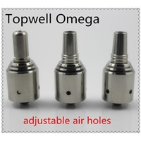 Topwell Rebuildable stainless steel omega atomizer wholesale / omega clone atomizer