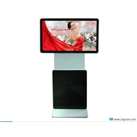 42inch LCD advertising display auto change screen,best show