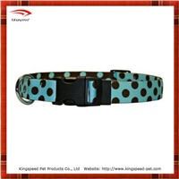 Cutie heattransfer printing dots dog collar