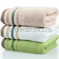 New 2014 100% Bamboo Beach Fiber Towel For Adults Bamboo Eiffel Bath Towel Set