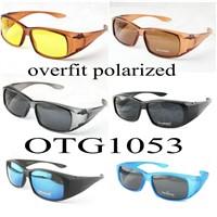 OTG1053 polaroid sunglasses fishing driving outdoor sports fits over the prescription glasses uv