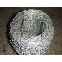 Electro Galvanized Barbed Iron Wire Fence