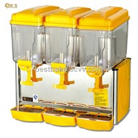 3 tank 12 liter bar plastic drink dispenser BY-PL351A