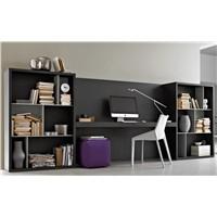studyfurniture living room furniture large bookcases bookshelf MDF panel with oak veneer design