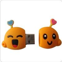 Cheap mold charge soft PVC USB flash drive