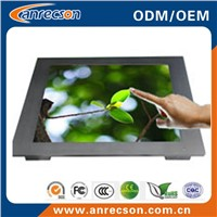 17 inch embedded mount touch screen monitor
