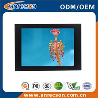 19 inch industrial embedded mount LCD monitor with touchscreen