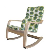 Bend wood rocking chair/birch wood relax chair