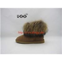 B054 Sheepskin wool-one snow boots/Women's snow boots
