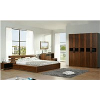 Teak wood bedroom furniture