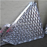 Custom Curved Framed Aluminum Expanded Metal Facade