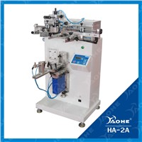 round screen printing machine for bottles printing