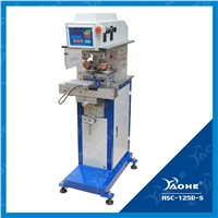 two color ink cup pad printing machine with shuttle