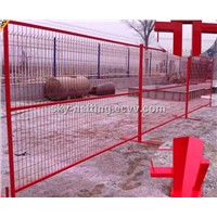 6H x 10L PVC coated construction fencing panels meets or exceeds most safety guidelines