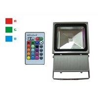 RGB 70W led flood light