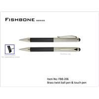 FISHBONE 2 in 1 stylus pen
