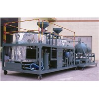 series LYE waste mineral engine oil recycling system,motor oil purification plant