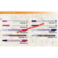 Air Erasable Pen(Auto Vanishing Pen/Disappearing Ink Marking Pen) for fabric