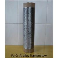 Fe-Cr-Al alloy fiber stainless steel fiber yarn