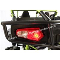 brake open light with turning light bumper full covered shaft utv 200 for sale