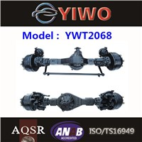 3500 kgs Front drive steer axle assembly axle manufacturer