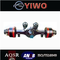 Bus rear drive axle assembly