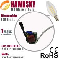 Factory Directly Price C35 E12/E14 Led Light bulbs Wholesale