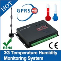 Temperature Humidity 3G Data Logger flow meter
