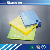 HOT SALE! Acrylic Pmma Sheet/Acrylic Perspex Sheet/Clear Organic Glass for key chains/pen holders