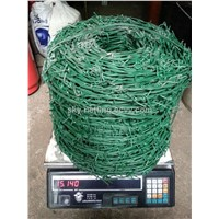 PVC Coated plastic barbed wire manufacturer