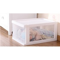 Translucent PP Drawer Cabinet Living Room Organizer Storage Box