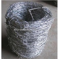 anping Haotian electro-galvanized barbed wire