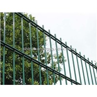 beautiful double welded wire mesh fence
