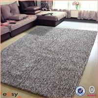 Handmade polyester carpet shaggy
