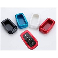 Universal 4 Buttons Car Key Case Metal Car Key Shell Promotion Gifts Keychain