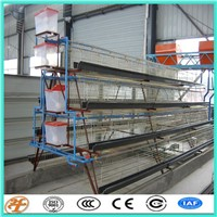 China Supplier Poultry Farming 4 Tiers Layer Chicken Cage