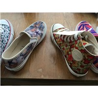 digital printing fabric shoes