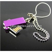 Promotional Mini USB with Many Colors, Anti-shock and Moisture-resistant, OEM Orders Welcomed