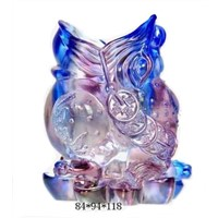 Stained Glass Gifts Liuli Pen Holder