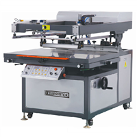 TMP-6090 Oblique Arm Type Flat Automatic Screen Printing Machine