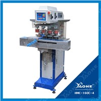 4 color pad printing machine with shuttle