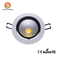 LED Downlight IP33 3W Cool/Warm White COB Aluminum Housing