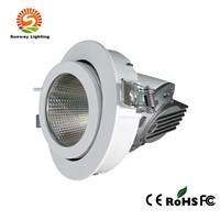 LED COB Gimbal Downlight 30W