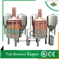 2bbl glycol jacket fermentation tanks beer brewing machine
