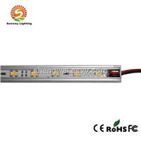 30 leds 5050 warm white led rigid strip IP 65 DC12V